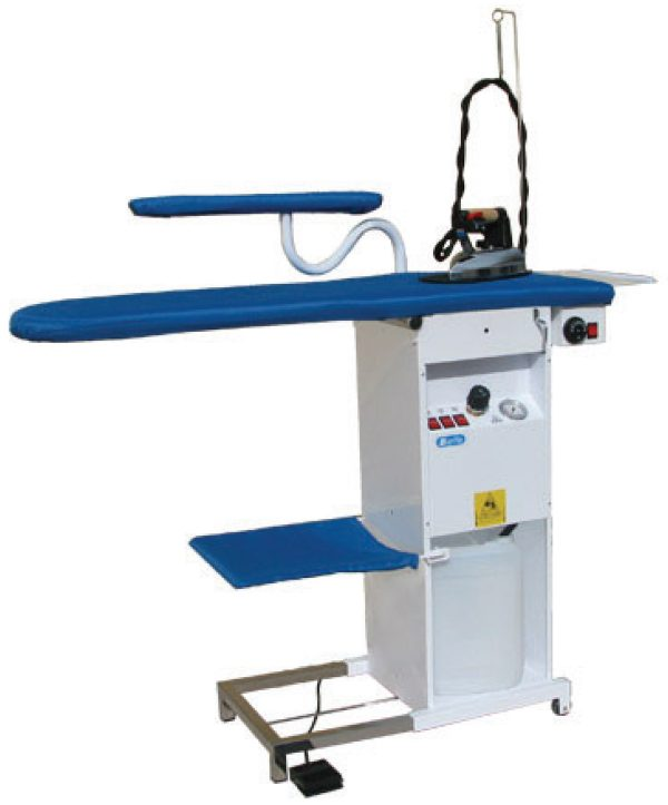 Profesionalni sto za peglanje sa parnim generatorom i peglom Forever BF085
